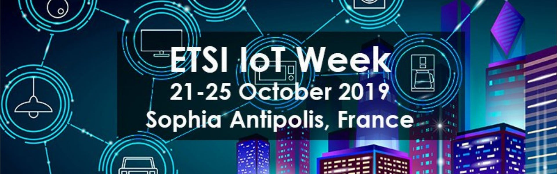 insigh.io attended the ETSI IoT Week 2019